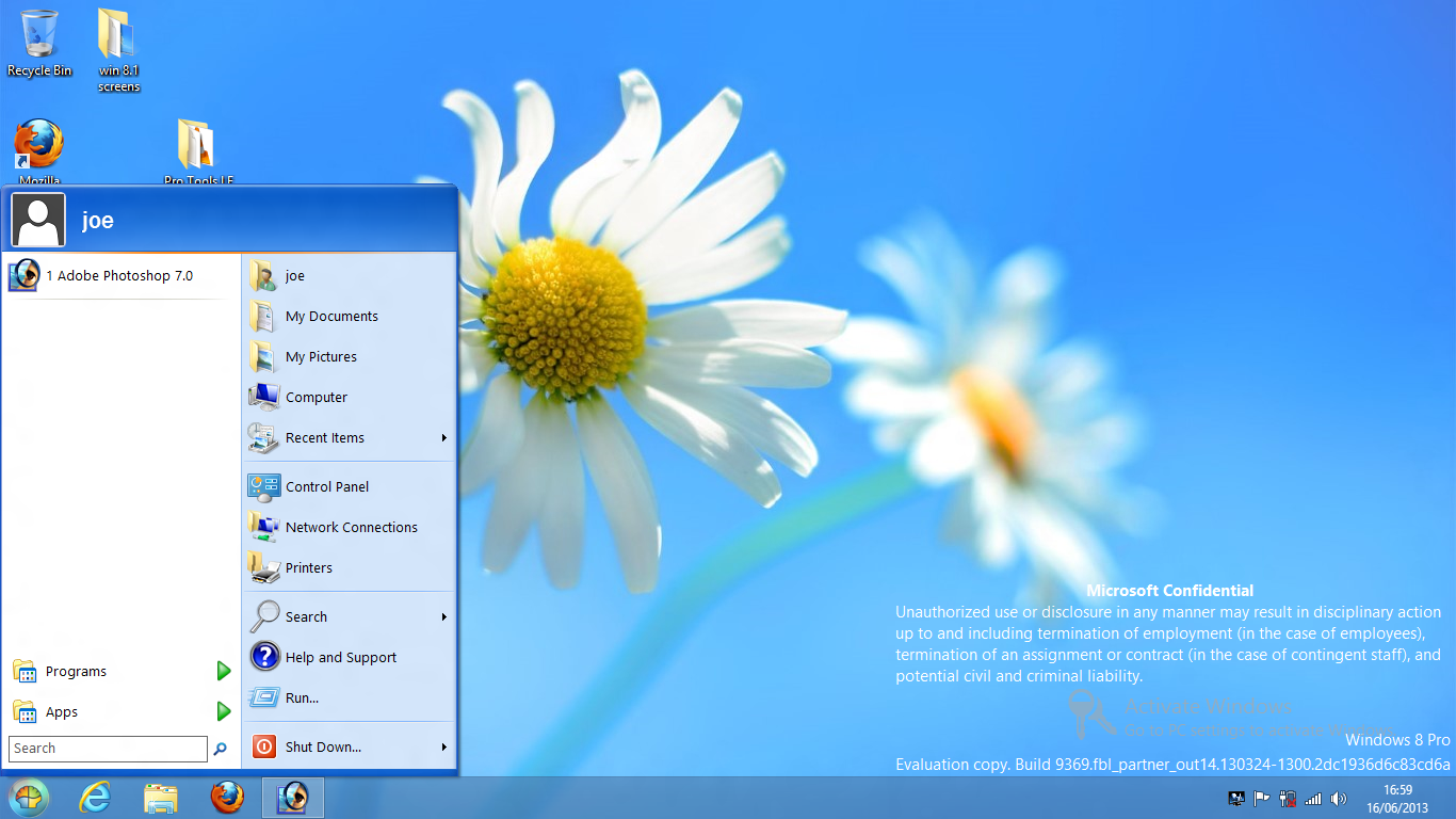 how to bring notepad into desktop windows 7